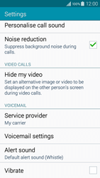 Samsung A300FU Galaxy A3 - Voicemail - Manual configuration - Step 6