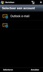 Samsung I8000 Omnia II - E-mail - e-mail versturen - Stap 3