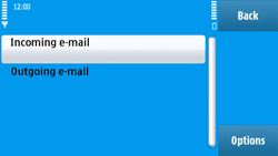 Nokia N97 - E-mail - Manual configuration - Step 24