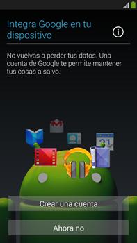 Samsung Galaxy Note 3 - Primeros pasos - Activar el equipo - Paso 10