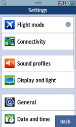 Samsung S5250 Wave 525 - MMS - Manual configuration - Step 4