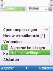 Nokia 6700 slide - E-mail - Handmatig instellen - Stap 16