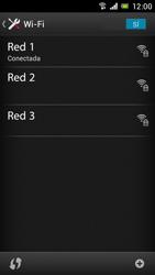 Sony Xperia J - WiFi - Conectarse a una red WiFi - Paso 8