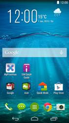 Acer Liquid Jade Z - Contacten - Contacten transfereren van uw oude iPhone toestel naar uw nieuwe Android toestel - Stap 1