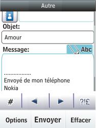 Nokia C2-03 - E-mail - envoyer un e-mail - Étape 11