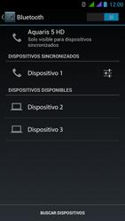 BQ Aquaris 5 HD - Bluetooth - Conectar dispositivos a través de Bluetooth - Paso 8