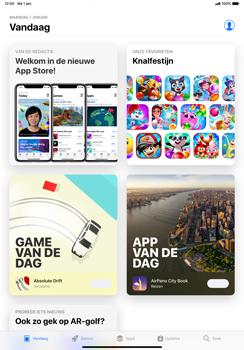 Apple ipad-pro-11-inch-2018-model-a1934 - Applicaties - Account aanmaken - Stap 25