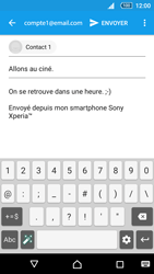 Sony E5823 Xperia Z5 Compact - E-mail - Envoi d