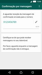 Sony Xperia M4 Aqua - Aplicações - Como configurar o WhatsApp -  8