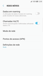 Samsung Galaxy S6 Edge - Android Nougat - MMS - Como configurar MMS -  6