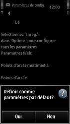 Nokia 500 - MMS - configuration automatique - Étape 8