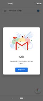 Motorola One Vision - Email - Como configurar seu celular para receber e enviar e-mails - Etapa 13