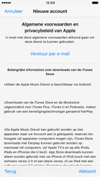 Apple iPhone 7 (Model A1778) - Applicaties - Account aanmaken - Stap 10