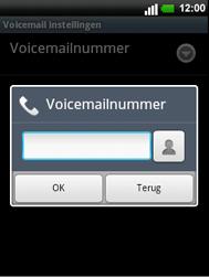 LG C660 Optimus Pro - Voicemail - handmatig instellen - Stap 7