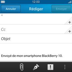 BlackBerry Q5 - E-mail - envoyer un e-mail - Étape 5