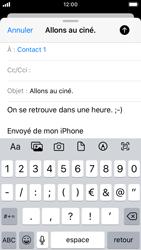 Apple iPhone SE - iOS 13 - E-mail - envoyer un e-mail - Étape 7