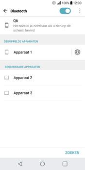 LG Q6 - WiFi en Bluetooth - Bluetooth koppelen - Stap 8