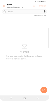 Samsung Galaxy S9 Plus - E-mail - Manual configuration (yahoo) - Step 10