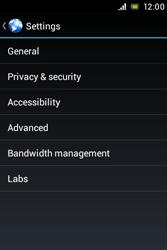 Sony ST23i Xperia Miro - Internet - Manual configuration - Step 21