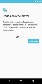 Motorola Moto G6 Play - Primeiros passos - Como ativar seu aparelho - Etapa 11