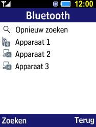 Samsung B550H Xcover 550 - Bluetooth - koppelen met ander apparaat - Stap 11