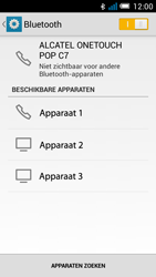 Alcatel OT-7041X Pop C7 - Bluetooth - Aanzetten - Stap 5