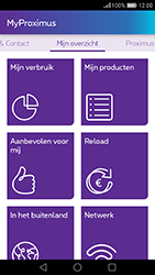 Huawei GT3 - Applicaties - MyProximus - Stap 10