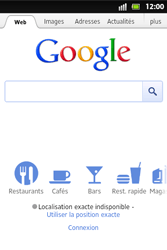 Sony ST27i Xperia Go - Internet - Navigation sur Internet - Étape 4