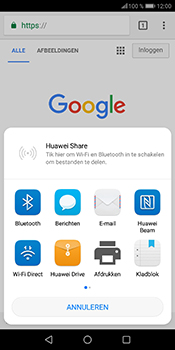 Huawei P Smart (Model FIG-LX1) - Internet - Hoe te internetten - Stap 21