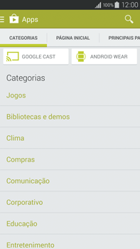 Samsung N910F Galaxy Note 4 - Aplicativos - Como baixar aplicativos - Etapa 6