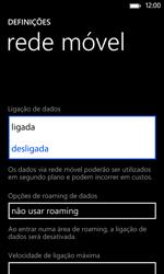 Nokia Lumia 625 - Internet no telemóvel - Como ativar os dados móveis -  6