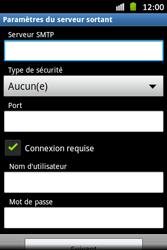 Samsung S6500D Galaxy Mini 2 - E-mail - Configuration manuelle - Étape 10