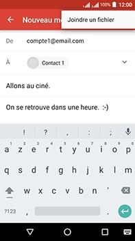 Acer Liquid Zest 4G Plus - E-mail - envoyer un e-mail - Étape 9