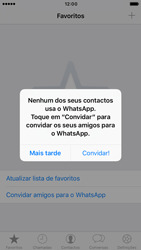 Apple iPhone 6 iOS 10 - Aplicações - Como configurar o WhatsApp -  14