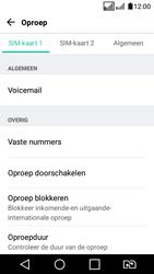 LG K4 (2017) (LG-M160) - Voicemail - Handmatig instellen - Stap 6