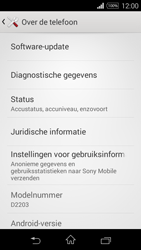 Sony D2203 Xperia E3 - Netwerk - Software updates installeren - Stap 6