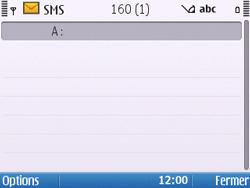 Nokia E5-00 - Mms - Envoi d