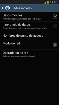 Samsung Galaxy Note 3 - Red - Seleccionar una red - Paso 6