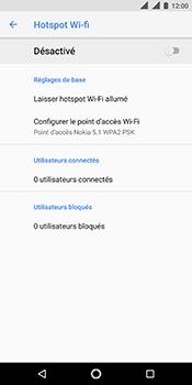 Nokia 5.1 - Internet - comment configurer un point d'accès mobile - Étape 7