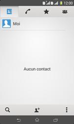 Sony Xpéria E1 Dual - Contact, Appels, SMS/MMS - Ajouter un contact - Étape 5