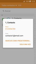 Samsung Galaxy S6 - Mensajería - Escribir y enviar un mensaje multimedia - Paso 8