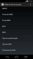 Motorola Moto X (2014) - Internet (APN) - Como configurar a internet do seu aparelho (APN Nextel) - Etapa 12