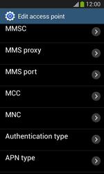 Samsung I8200 Galaxy SIII Mini Lite - Mms - Manual configuration - Step 12