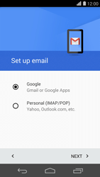 Huawei Ascend P7 - Email - 032a. Email wizard - Gmail - Step 8