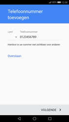 Huawei P10 Lite (Model WAS-LX1A) - Applicaties - Account aanmaken - Stap 13