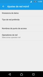 Sony Xperia M5 (E5603) - Red - Seleccionar una red - Paso 6