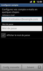 Samsung I8160 Galaxy Ace II - E-mail - Configuration manuelle - Étape 5
