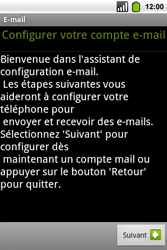 Alcatel OT-991 Smart - E-mail - Configuration manuelle - Étape 5