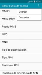 Samsung Galaxy A3 - Mensajería - Configurar el equipo para mensajes multimedia - Paso 15