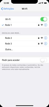 Apple iPhone X - Wi-Fi - Como ligar a uma rede Wi-Fi -  7